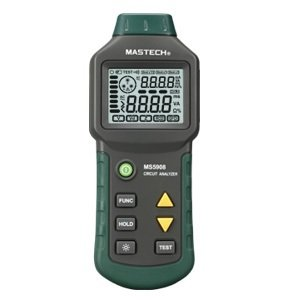 New MS5908 New T RMS voltage GFCI RCD Tester Circuit Analyzer fit IDEAL SureTest 61-164CN UK ship new w/ 1 yr warranty (Circuit Analyzer Suretest)
