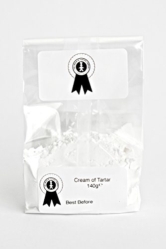 Cream of tartar for Baking and making play dough Grade A premium food quality (140g)