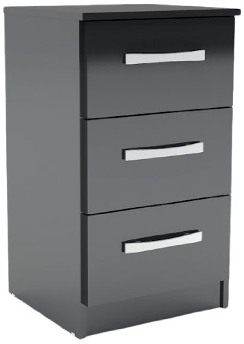Birlea-Furniture-LYNBSBLK-Mesilla-de-noche-color-negro