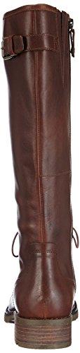 Sebago Saranac Lacehigh, Boots femme Marron (Dk Brown Leather)