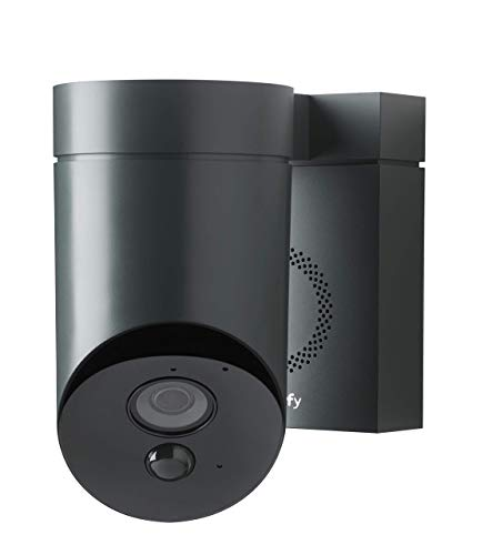 312vM3AhwJL [Bon Plan Domotique] Somfy 2401563 - Outdoor Camera | Caméra de surveillance extérieure Wifi | 1080p Full HD | Sirène 110 dB | 3 branchements possibles