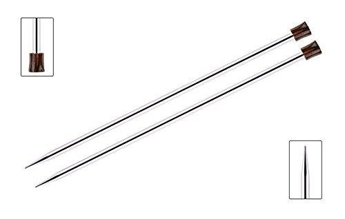 's Pride strickliebhaber Nova Platina Single Spitz 35,6cm (35cm) Stricknadeln Paket mit 10artsiga Crafts Maschenmarkierer Size 10.75 (7.0mm) - Nova Paket