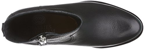 Shabbies Amsterdam Shabbies 14cm Zipper Booty New Poro Sole Pointy Lois, Bottes femme Noir - Schwarz (Black 002)