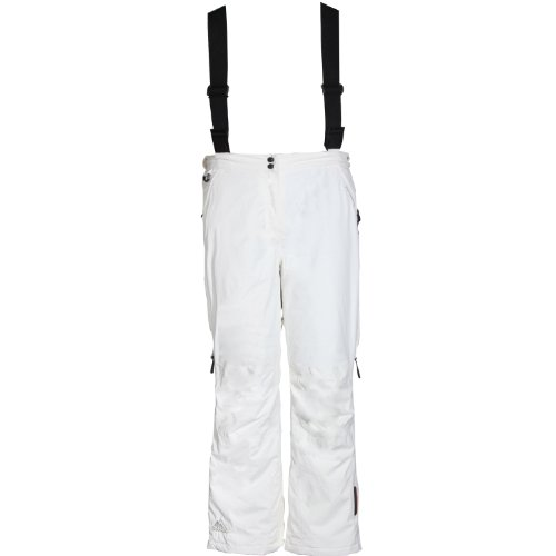 Cox Swain Damen 2-Lagen Ski- / Snowboard Funktionshose ALTITUDE LTD - mit RECCO Lawinenreflector, Colour: White, Size: L