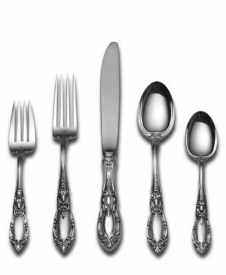 Towle King Richard Sterling Silver 5-Piece Place Setting by Towle -