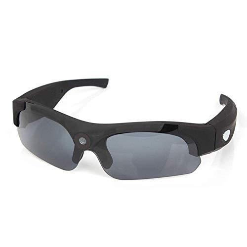Fbestglass Tragbare Sonnenbrille 1080p Kamera Brille Videorekorder Gläser 120 ° Weitwinkelobjektiv, TF-Karte (Nicht enthalten), 500 mAh interner Akku