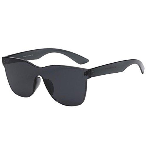 Mode Damen Sonnenbrille,Hffan Frauen Quadrate Shades Sonnenbrille Integrierte UV Candy Colored...