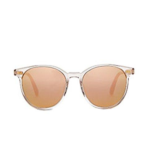 Preisvergleich Produktbild Toms Bellini 10011375 Herren Klarer Rahmen Rosa Spiegel Runde Piloten Sonnenbrille