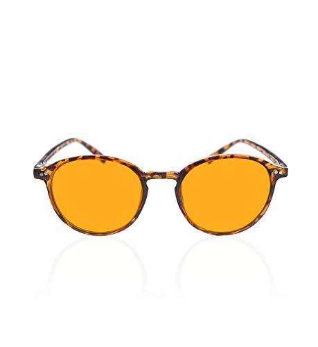 Foxmans Computer-Gläser mit Blaulichtfilter - The Lennon 'Schwerlast'