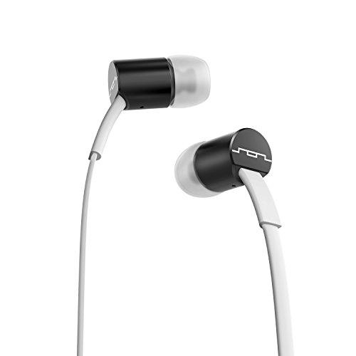 SOL Republic Jax InEar-Kopfhörer (mit 3-Tasten Bedieneinheit mit Mikrofon) Weiß/Schwarz