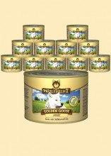 Citrus Zink Vitamine (WOLFSBLUT Golden Goose mit 57% Gänsefleisch - 6 x 200g)
