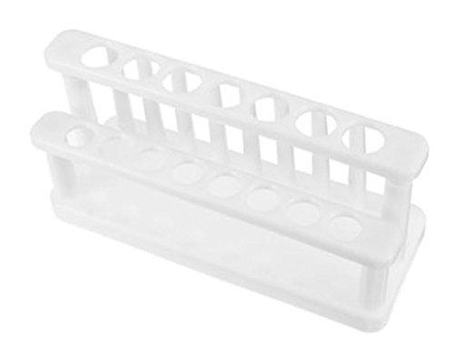15Positionen Test Tube Rack Wandhalterung weiß Kunststoff für Lab 15–20mm Tubes von shopidea