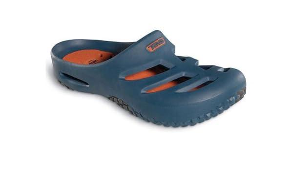 3cbe46521 Mens Teva Apres Clogs in Midnight Navy - UK 6  Amazon.co.uk  Shoes   Bags