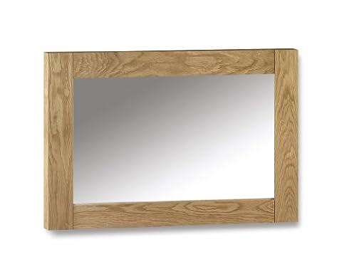 Julian Bowen Marlborough Wall Mirror, Waxed