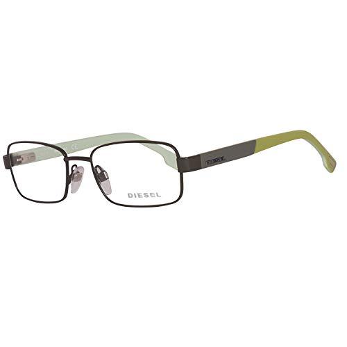 Diesel Unisex-Kinder Brillengestelle Brille DL5227 097 49, Grau