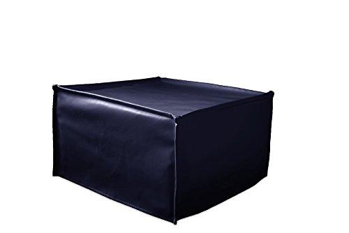 Pouf A Letto Singolo.Ponti Divani Cube Pouf Letto Singolo Con Materasso H 10cm Di Ottima Qualita E Rete Italiana Tessuto Blu