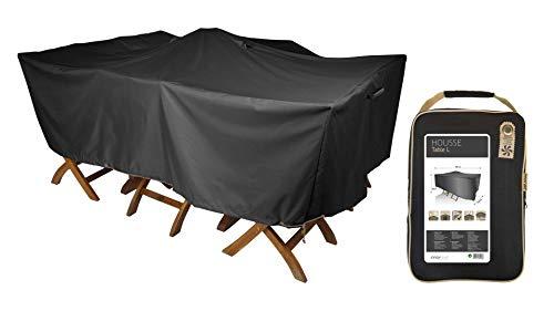 housse de protection table de jardin 180 x 120 cm
