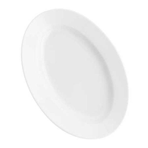 Kahla - Porcelaine pour les Sens 573306A90057C Pronto Colore Plateau Ovale Blanc 32 cm