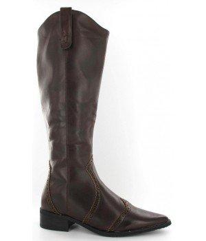 Chaussure Bas Prix - Bottes femme marron - H2650-4 Marron