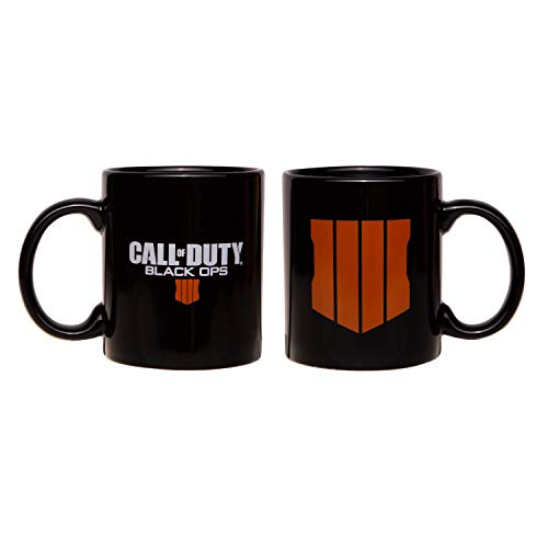 "Gaya Call of Duty: Black Ops 4 Mug ""Logo"", Black - Not Machine Specific"
