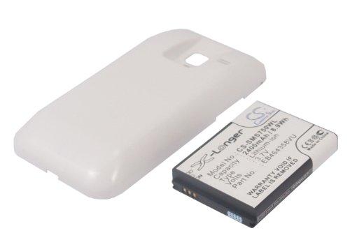 CS-SMS750WL Batteria 2400mAh compatibile con [SAMSUNG] Galaxy Ace Plus, GT-S7500 sostituisce EB464358VU, EB464358VUBSTD