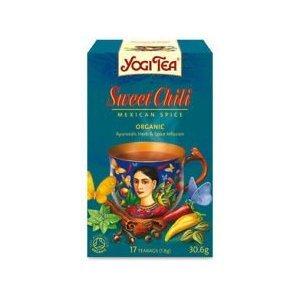 Yogi Tea Organic Sweet Chili Mexican Spice 17 Bags (Case of 6)