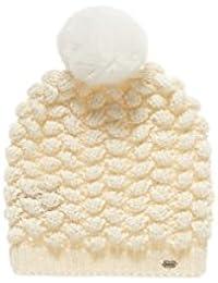 Superdry Damen Strickmütze Bobble Stitch Fur Pom Pom Hat
