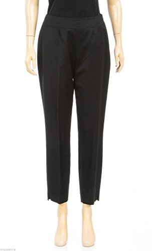 escada-for-neiman-marcus-black-side-zip-pants-size-38