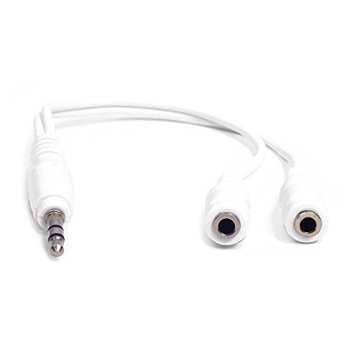 WOVELOT Universal Headset Kabel Kompatibel mit iPod, iPod Mini, iPod Video, iPod Photo, iPod U2 Special, Ausgabe, iPod Nano, iPod Shuffle, PDA, HiFi-Anlage, Walkman Ipod Mini Nano Video U2