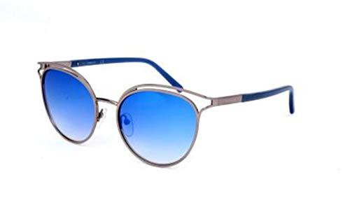 Calvin Klein CK Herren CK2158S 34937 046-0-19-140 Sonnenbrille, Silber, 53