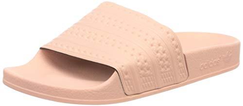 adidas Damen Adilette Badeschuhe, Pink (rosa rosa), 37 EU