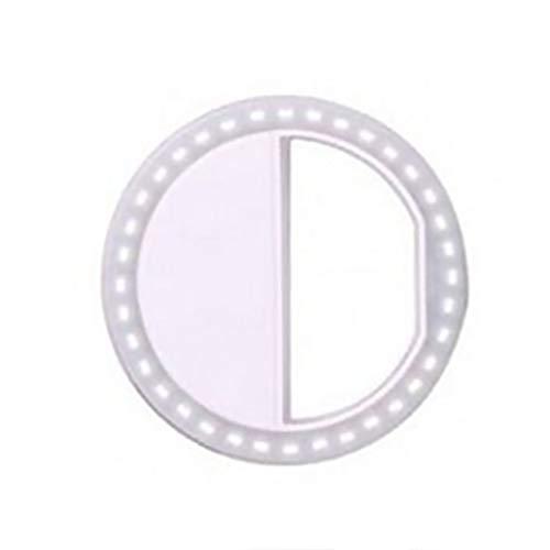 censhaorme Selfie Anneau Flash LED Remplissage Lampe Photographie Caméra Vidéo Projecteur pour iPhone X 8 7 pour Samsung S9 S8 Plus