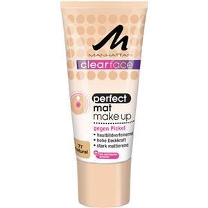 Manhattan CF Perfect Mat Make-Up 77, 1er Pack (1 x 25 ml) - Mattierende Fettige Haut-creme
