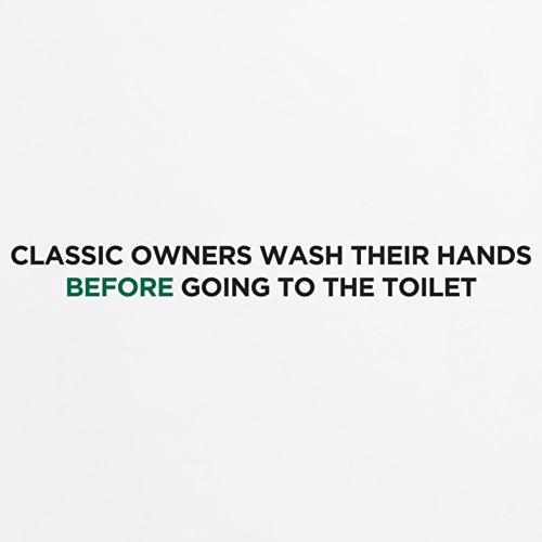 Classic Owners T-Shirt, Herren Wei