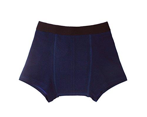 Inkontinenz-Shorts Jungen, Inkontinenzhose mit Saugeinlage, dunkelblau, waschbar, ActivePro Boys