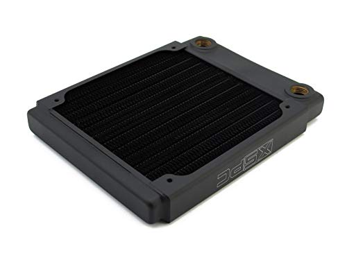 XSPC 5060596650008 XSPC TX120 Heizkörper, ultradünn, 120 mm, Schwarz - Pc-radiator Von Xspc