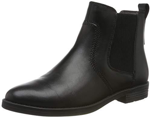 Tamaris Damen 1-1-25306-23 Chelsea Boots, Schwarz (Black 1), 38 EU