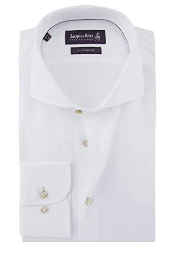 Jacques Britt Herren Businesshemd Weiß