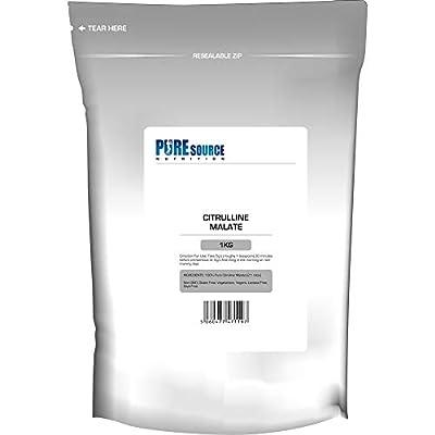 PSN 100% Pure Citrulline Malate Powder 2:1 Ratio 1Kg / 1000g Unflavoured Vegan Pump | Nitric Oxide from PSN