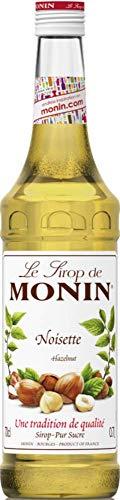 Monin - Macchina per caffè e bar sciroppo, nocciola, 0,7 l