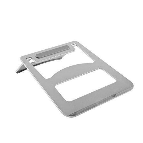 SAVONGA ALUMINIUM Ständer für Tablet Laptops Macbook Pro Air 10 14 bis 17 Zoll Faltbare und Tragbare Ergonomischer Notebook Halterung #SA6202S