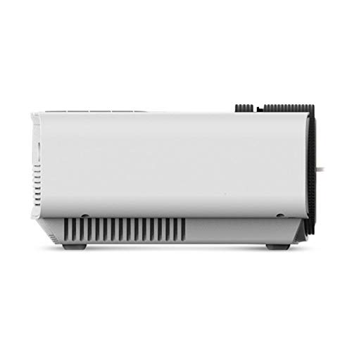 LED film projector for home outdoor  1080p HD portable  support HDMI  VGA  AV  USB  SD