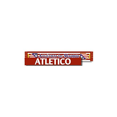 Bufanda Atlético de Madrid doble