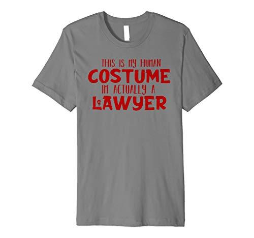 Anwalt Halloween-Kostüm Shirt für Männer Frauen und -
