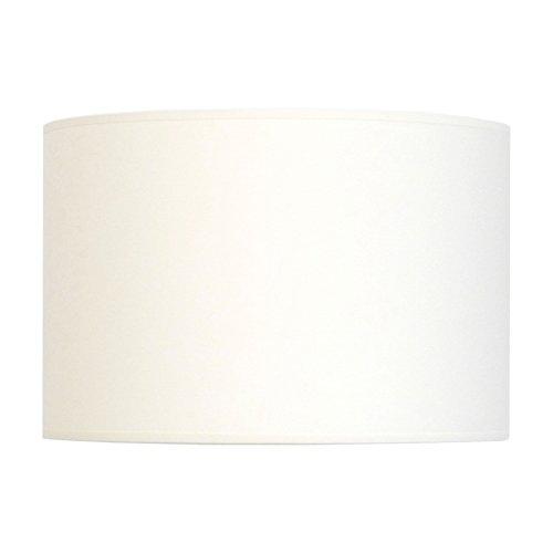 Abat-jour du Moulin CTBTT30301810/AMZ Cylindre, Texture, E27, Blanc