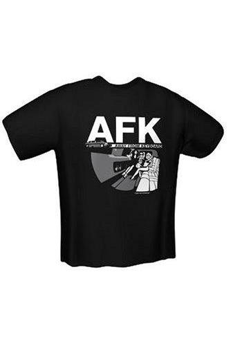 T-Shirt AFK black Gr.M