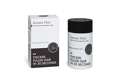 WOW ERGEBNISSE! Sofort-Haarausfall-Behandlung für Männer und Frauen | 100% Keratin-Fasern | Bedeckt Dünne und Kahle Stellen | Haarverdichtung | 5 Wochen Vorrat | Dunkelbraun