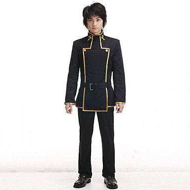Cosplay Kostüm Inspiriert von Code Geass Lelouch Lamperouge Ashford Academy Schule Jungen Uniform(Mailen Sie uns Ihre Größe),Größe XXL:(175-180 CM)