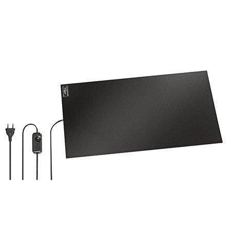 40 - 150 W Infrarot-Schreibtischheizung / Wärmeplatte mit Dimmer