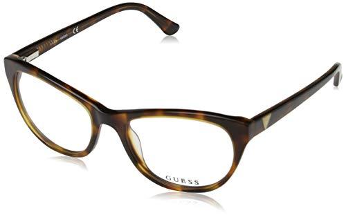Guess Damen Brille Gu2529 53052 Brillengestelle, Braun, 53